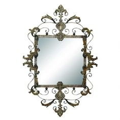 "DO make mirrors a focal point. ""One bold piece can set the entire tone for the room,"" says Deleon.  This mirror is $25 marked down from $100. This weekend only (ends July 1)"