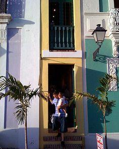 Puerto Rico Skinny House  www.elledecor.com