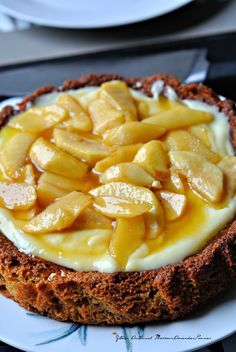 Gâteau Marrons,Amandes,Pommes Sans Gluten  A tester sans les oeufs