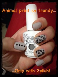 Animal print with gelish