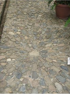 Pebble Mosaic-like them simple! JULIA - I LOVE THESE COLORS