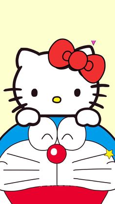 Hello Kitty Backgrounds, Hello Kitty Wallpaper, Kawaii Wallpaper, Doraemon Wallpapers, Cute Wallpapers, Hello Kitty Coloring, Hello Kitty Pictures, Anime Crossover, Picts