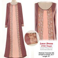 2726Pastel Tone Laced Islamic Muslim Abaya Long by MissMode21, $34.00 Hijab Abaya, Hijab Dress, Islamic Fashion, Muslim Fashion, Modest Dresses, Nice Dresses, Niqab Fashion, Abaya Designs, Techniques Couture