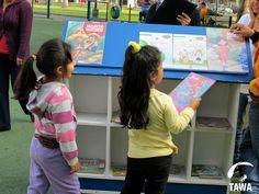Interés de los niños por la lectura.