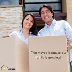 We all have our reasons for making a move.  Choosing a Realtor you trust can help make it your BEST move.   Find out how Knowledge Broker can work for you.  knowledgebroker.ca