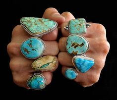 I love each one. There is something so magnetic about turquoise!!!
