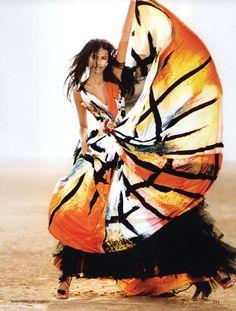 Lakshmi Menon in Vogue India, May 2009