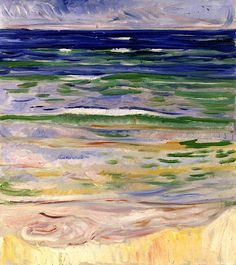 Waves Edvard Munch - 1908