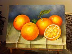 Still life - naranjas