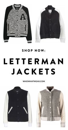 15 fashionable letterman jackets for every budget to shop right now.