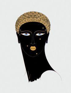 Queen of Sheba - (Erté (Romain De Tirtoff))