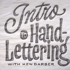 #goodtype Hand lettering sketched