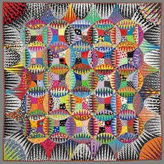 I love her quilts....so fun! Freddy Moran Quilt, Polka Dot Heaven