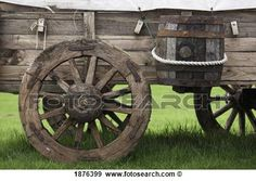 Stock Photograph - Northumberland, England; An Old Wooden Carriage With A Barrel Strapped To The Side. Fotosearch - Search Stock Photography, Posters, Pictures, and Photo Clipart Images