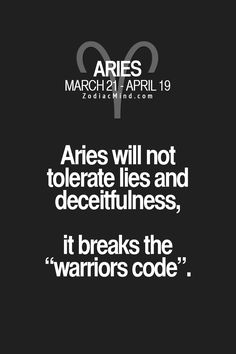 Don't lie or be deceitful- you will see and feel the consequences for years. aries Zodiac Signs Don't lie or be deceitful- you will see and feel the consequences for years. Aries Zodiac Facts, Libra, Aries Love, Aries Astrology, Aries Quotes, Aries Sign, Aries Horoscope, Zodiac Mind, My Zodiac Sign