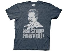 "The Soup Nazi"""" is the title of the 116th episode of the sitcom, Seinfeld. It's also the nickname of the character played by Larry Thomas. The term """"Nazi"""" is used as an exaggeration of the over-regi"