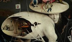 Details from Bosch's Garden of Earthly Delights (ca. 1500) | The Public Domain Review Hieronymus Bosch, Garden Of Earthly Delights, Ouvrages D'art, Dutch Painters, Arte Popular, Fine Art, Middle Ages, Dark Art, Oeuvre D'art