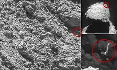 Philae is found! Rosetta finally spots the lonely lander on comet 67P