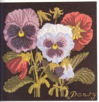 "Gallery.ru / natlopat - Альбом ""Bradley Elizabeth. Needlework Antique flowers (2008)"""