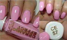Risultati immagini per unghie rosa confetto con brillantini