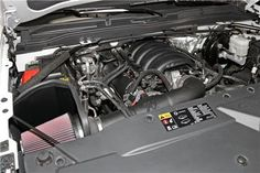 K&N 63 Series Aircharger Performance Intake Kit Chevy/GMC 14-15 Silverado/Sierra 1500 5.3L/6.2L V8