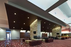 Metal Ceilings - Woodwright Box Series Interior from Hunter Douglas Contract