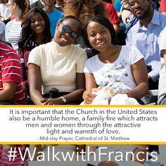 #WalkwithFrancis