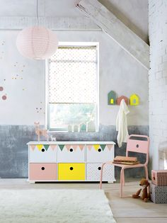 meuble bas 6 rangements chambre bb babyspace wwwvertbaudetfr - Meuble Rangement Chambre Bebe