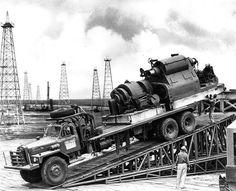 Mack Truck at oil fields