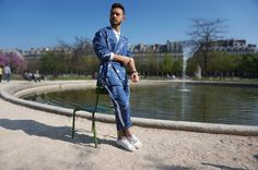 Costume - SAUDADE DE PARIS - Tâches de Muguet - Tailoring - Paris - Men Outfit - Streetstyle - Suit - Kimono