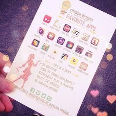 Rhonnas top current Apps | Rhonna DESIGNS