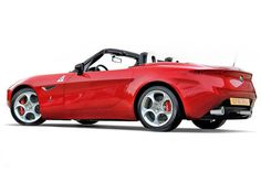 Alfa render — would be nice look for their 2015 Mazda MX5 based sports car
