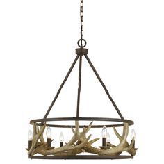 Found it at Wayfair - Antler 8 Light Candle Chandelier
