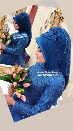 Muslim Prom Dress, Hijab Bride, Pakistani Wedding Dresses, Modest Fashion Hijab, Street Hijab Fashion, Hijab Chic, Pakistani Bridal Wear, Indian Bridal, Bridal Hijab Styles