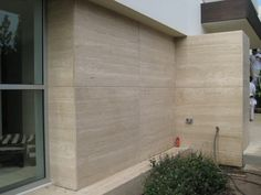 Exterior Cladding - Novana Travertine Marble -