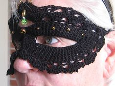 Ravelry- Crocheted Mask Guide....Free!