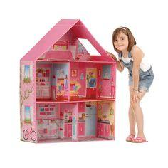 "Calego 3D Imagination - Traditional Dollhouse - Calego - Toys ""R"" Us"