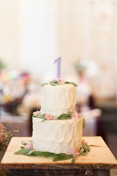 Korean First Birthday Party // Camilla's Dohl at Pinot Provence (Cake)