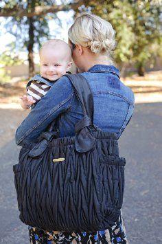 Amazon.com: Timi & leslie Marie Antoinette II Diaper Bag, Black: Baby
