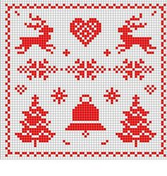 Thrilling Designing Your Own Cross Stitch Embroidery Patterns Ideas. Exhilarating Designing Your Own Cross Stitch Embroidery Patterns Ideas. Xmas Cross Stitch, Cross Stitch Charts, Cross Stitch Designs, Cross Stitching, Cross Stitch Embroidery, Embroidery Patterns, Cross Stitch Patterns, Theme Noel, Christmas Embroidery