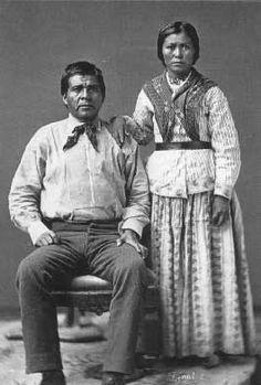 Eskiminzin & wife