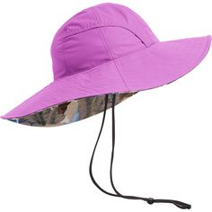 3b52749e689 The women s Non-Stop Ripstop Sun Hat from Duluth Trading Company folds into  a pocket
