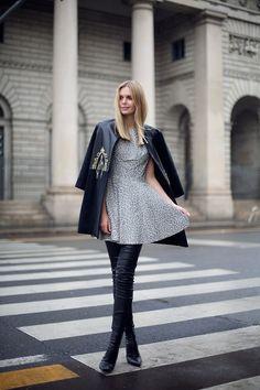 simple but elegant dress
