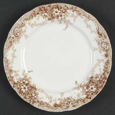 Meakin, Alfred Medway-Brown Bread & Butter Plate