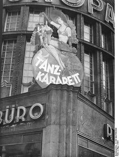 The Europahaus, one of hundreds of cabarets in Weimar Berlin, 1931.