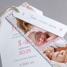 Faire-part de naissance personnalisés, faire-part fets, liberty fpc Faire Part Liberty, Baby Announcement Cards, Baby Invitations, Album Design, Baby Cards, Baby Photos, Christening, Baby Love, Birth