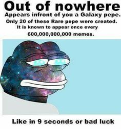 So many Pepe's are in my pin