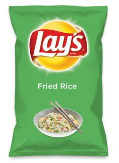 Wouldn't Fried Rice be yummy as a chip? Lay's Do Us A Flavor is back, and the search is on for the yummiest flavor idea. Create a flavor, choose a chip and you could win $1 million! https://www.dousaflavor.com See Rules.