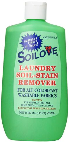 Soilove Laundry Soil-stain Remover - This stuff is amazing, it will seriously take care of berry stains or blood with just a little squirt! Laundry Stain Remover, Stain Remover Carpet, Grass Stains, Shower Cleaner, Glass Shower Doors, Carpet Stains, Cleaning Hacks, Health And Beauty, How To Remove