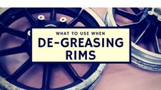 Whether your doing rims or parts this is the best to degrease before bringing your project in for powder coating Powder Coating Rims, Turbo Intercooler, Best Powder, Life Hackers, Ral Colours, Colors, What To Use, Car Restoration, Lift Kits